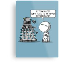Marvin meets Who? Metal Print