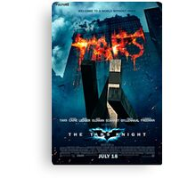 Tars Batman movie Canvas Print