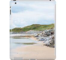 ballybunion beach beside the links iPad Case/Skin
