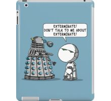 Marvin meets Who? iPad Case/Skin