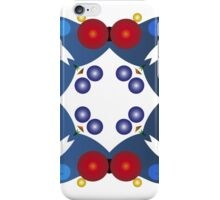 Colored Balls - Blue and Red iPhone Case/Skin