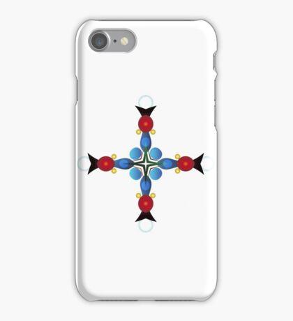 Colored Balls - Cross iPhone Case/Skin
