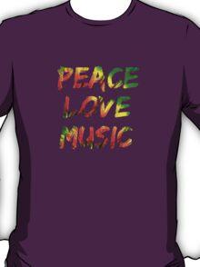 Peace Love Music T-Shirt