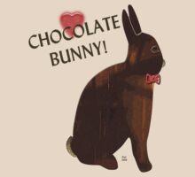 Chocolate Bunny by Terri Chandler
