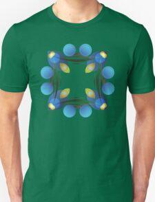 Blue Petals of Light T-Shirt