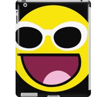 Awesome Grunge style Face  iPad Case/Skin
