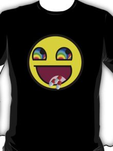 Awesome MEME Face flip drugs T-Shirt