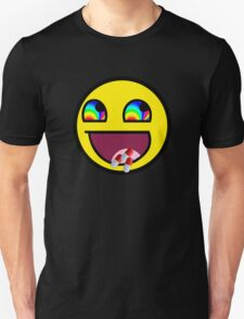 Trollface flip drugs T-Shirt