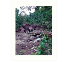 The Boulders - Innisfail, Far North Queensland Art Print