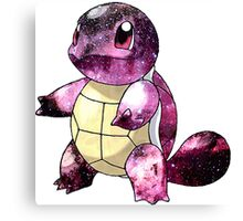 Squirtle Nebula Canvas Print