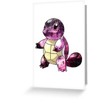 Squirtle Nebula Greeting Card