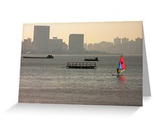 A touch of color Greeting Card