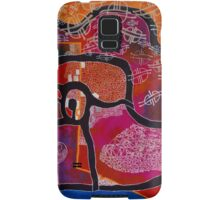 Elephant Maps or Google Maps Samsung Galaxy Case/Skin