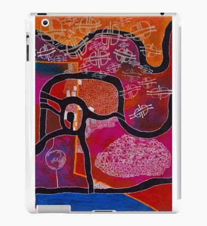 Elephant Maps or Google Maps iPad Case/Skin