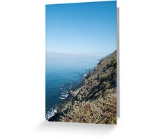 Pacific Edge Greeting Card