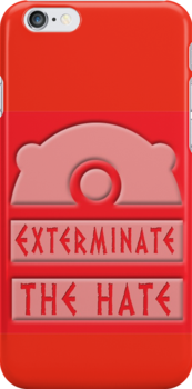 Exterminate the hate! by ToneCartoons