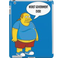 Worst Government Ever! iPad Case/Skin