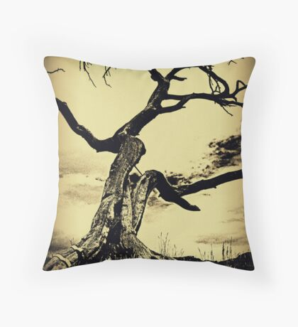 Call to the Earth Throw Pillow