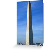 Washington Memorial Greeting Card