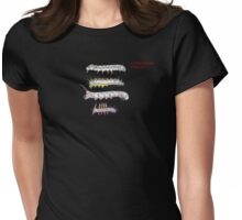 Lepidoptera Pencils Womens Fitted T-Shirt
