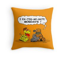 Darfield and Fiends  Throw Pillow