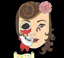 Beauty is Only Skin Deep (Black) by dani-lafez