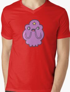Lumpy space princess - amazed Mens V-Neck T-Shirt
