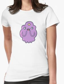 Lumpy space princess - amazed Womens Fitted T-Shirt