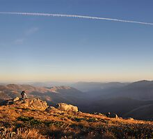 High country sunrise  by Peter Hammer