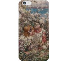 EDWARD ATKINSON HORNEL (1864-1933) Springtime 1930, Scotland iPhone Case/Skin