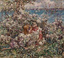 EDWARD ATKINSON HORNEL (1864-1933) Springtime 1930, Scotland by Adam Asar