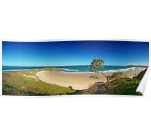 Angourie Beach, New South Wales Poster