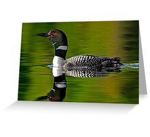National Geographic's Weekly Wrapper - Common Loon Greeting Card