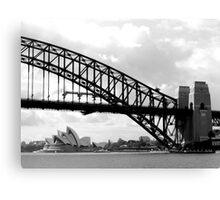 Aussie Icons Canvas Print