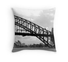 Aussie Icons Throw Pillow