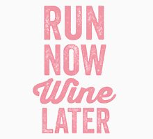 RUN NOW WINE LATER Women's Tank Top