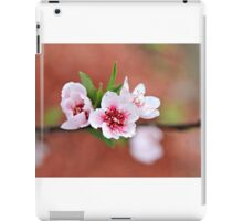 Peach Tree Petals iPad Case/Skin