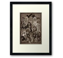 There and Back Again  Framed Print