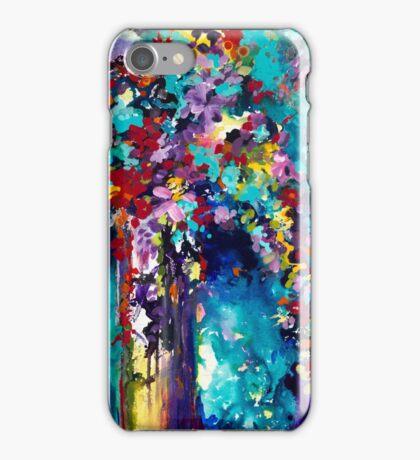 Turquoise Vase iPhone Case/Skin