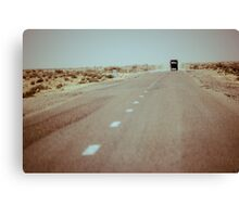 1250km to go Canvas Print