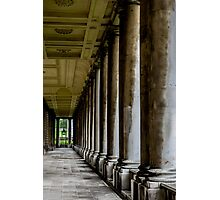 The columns of the Old Naval College in Greenwich, London Photographic Print