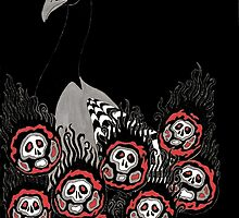 Alternative Peacock of Doom (black) by dani-lafez