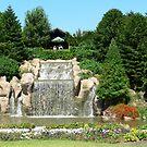 Waterfall Hunter Valey Gardens!! by Heabar