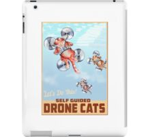 Drone Cats. iPad Case/Skin
