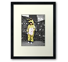 Zombie and Gothic Pt 1 Framed Print