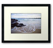Waterscapes: Barrack Point Headlands Framed Print