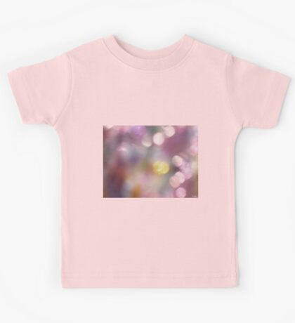Abstract Bubbles Kids Tee