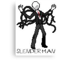 SlenderMan Canvas Print