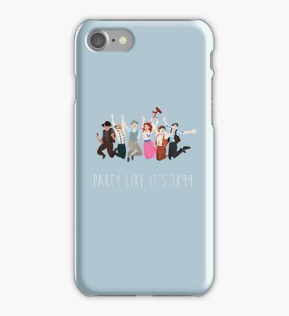 Party Like It's 1899 iPhone Case/Skin