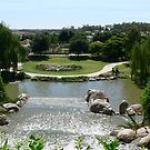 Top of the Waterfall Hunter Valley Gardens by Heabar